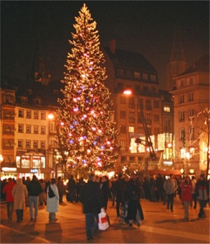 Place Kleber Christmas Tree