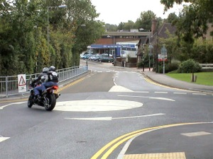 Oxted traffic circle