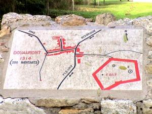 Douaumont map