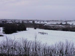 Smisby snow