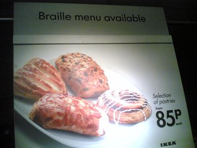 braille menu