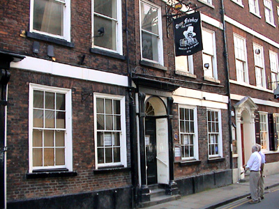 Guy Fawkes house