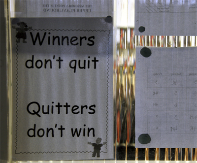 winners do not quit