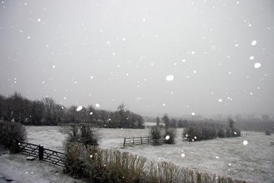 Smisby snowfall