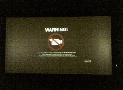movie warning