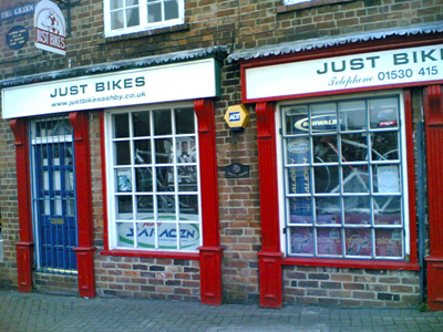 Just Bikes in Ashby