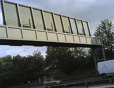 speed camera on M25