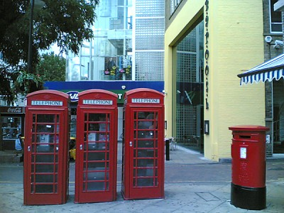 Postbox Telephone Booths