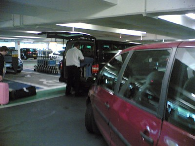 Selfish taxi driver at Gatwick