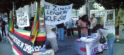 Zimbabwe vigil in London