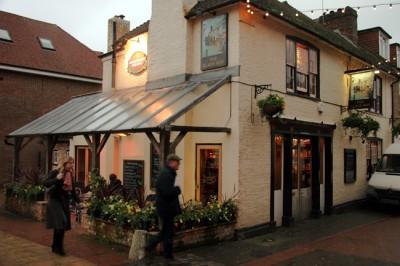 Black Boy Pub in Sevenoaks