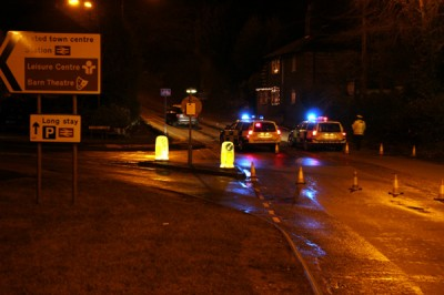 Road Accident in Oxted