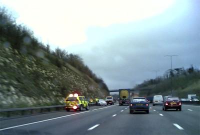 Accident on M25