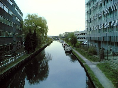 Grand Union Canal in Uxbridge