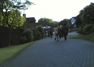 Oxted pram race