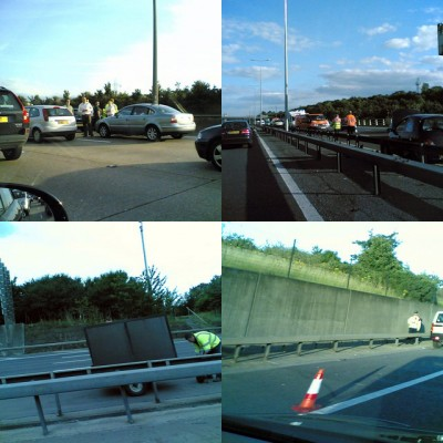 M25 accidents