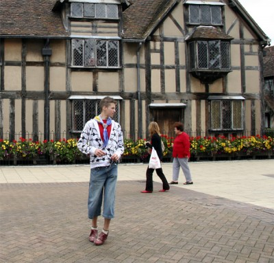 Scouting Shakespeare's birthplace